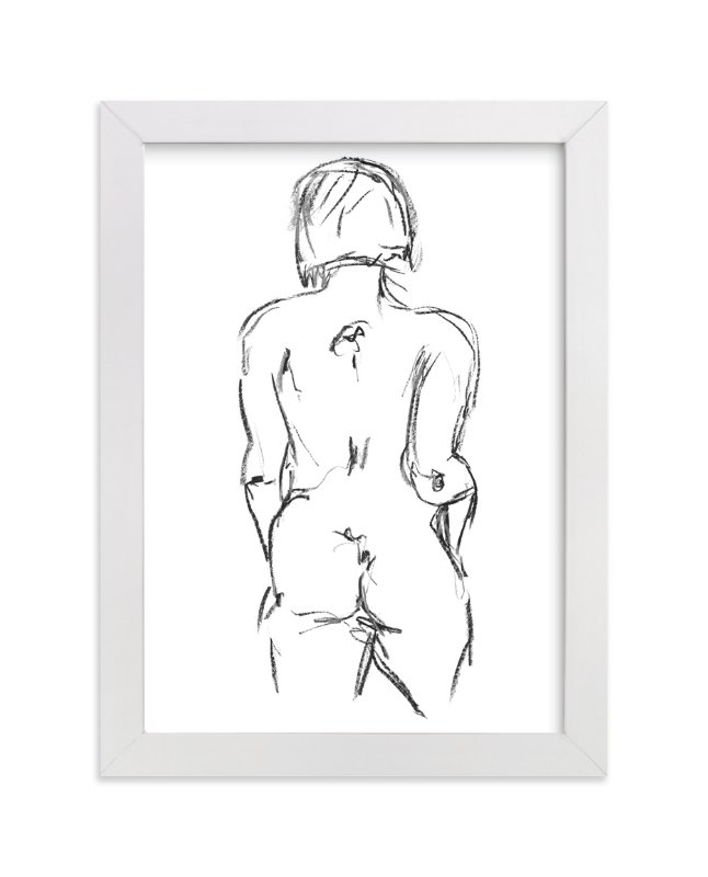 """""""Model1"""" - Art Print by Miranda Mol in beautiful frame options and a variety of sizes."""