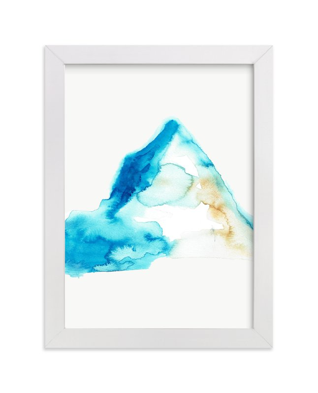 """The Summit"" - Art Print by Christi Parks in beautiful frame options and a variety of sizes."