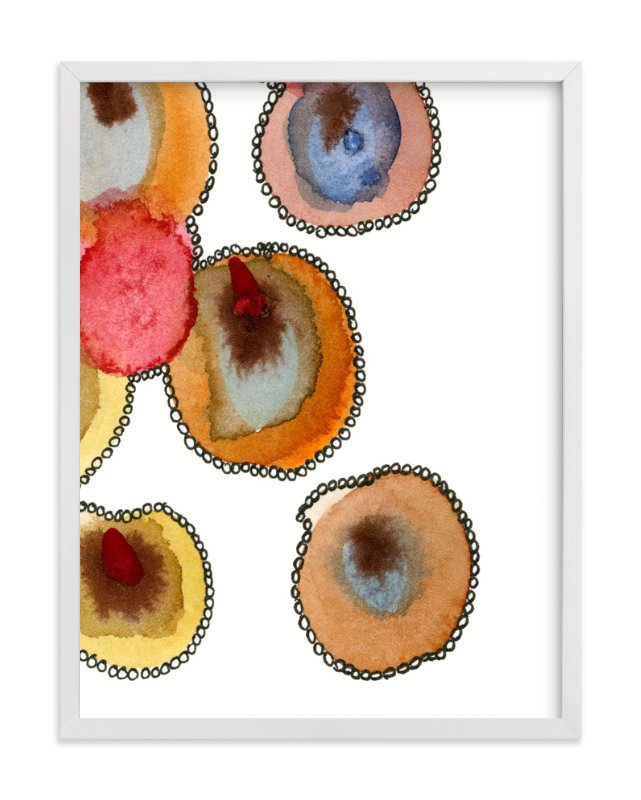 """""""Fantastic Orbs 4"""" - Art Print by Me Amelia in beautiful frame options and a variety of sizes."""