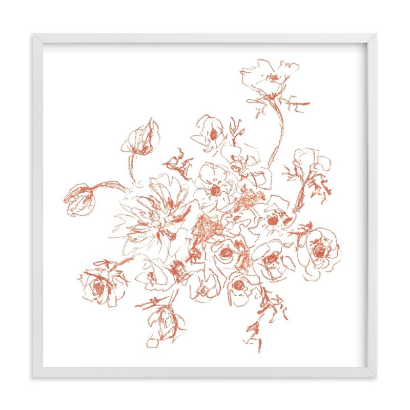 """""""Bouquet Study I """" - Art Print by Jennifer Allevato in beautiful frame options and a variety of sizes."""