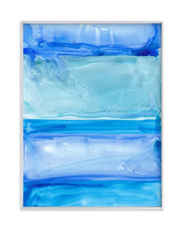 """""""Liquid Layers """" - Art Print by Jennifer Matlock in beautiful frame options and a variety of sizes."""