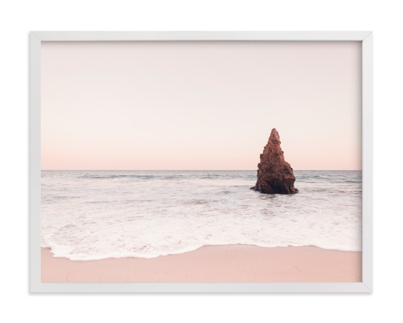 """""""Malibu View No.1"""" - Art Print by Kamala Nahas in beautiful frame options and a variety of sizes."""