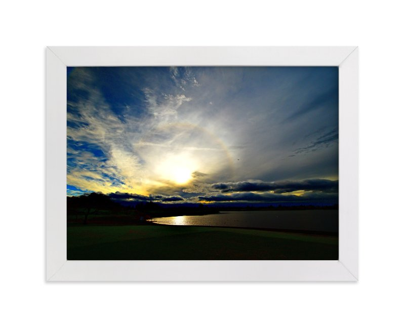 """""""Through clouds"""" - Art Print by NSMARK in beautiful frame options and a variety of sizes."""