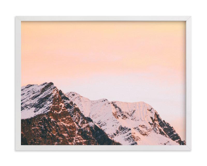 """Ombre Sky No.2"" - Art Print by lulu and isabelle in beautiful frame options and a variety of sizes."