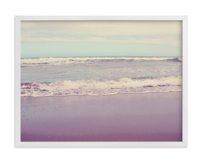 """Waves of Summer"" - Art Print by Gray Star Design in beautiful frame options and a variety of sizes."