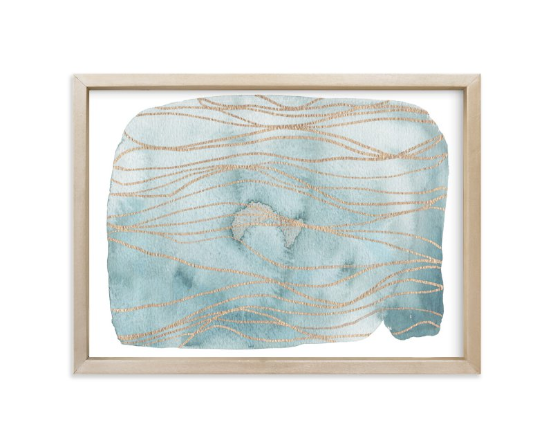 """Meditations"" - Art Print by Melinda Denison in beautiful frame options and a variety of sizes."
