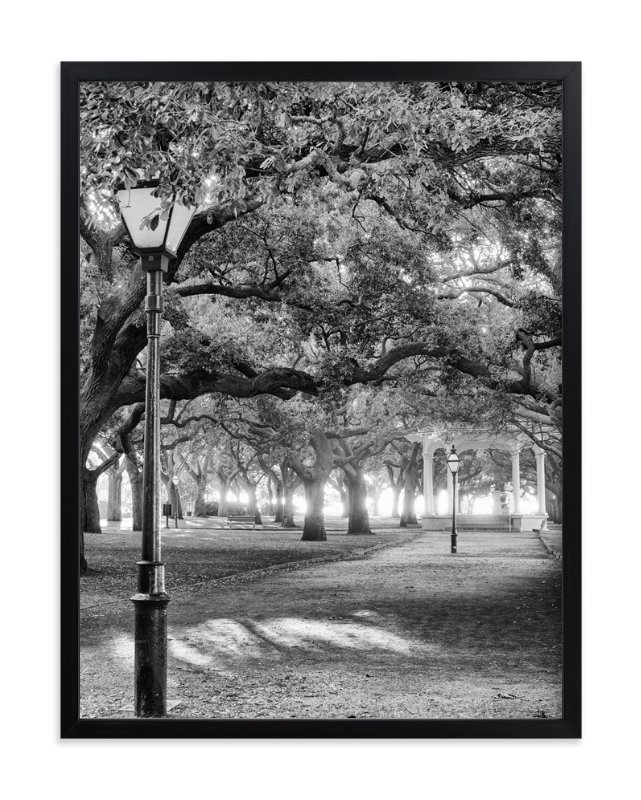 """""""Park Dreams"""" - Art Print by Mark Kirby in beautiful frame options and a variety of sizes."""