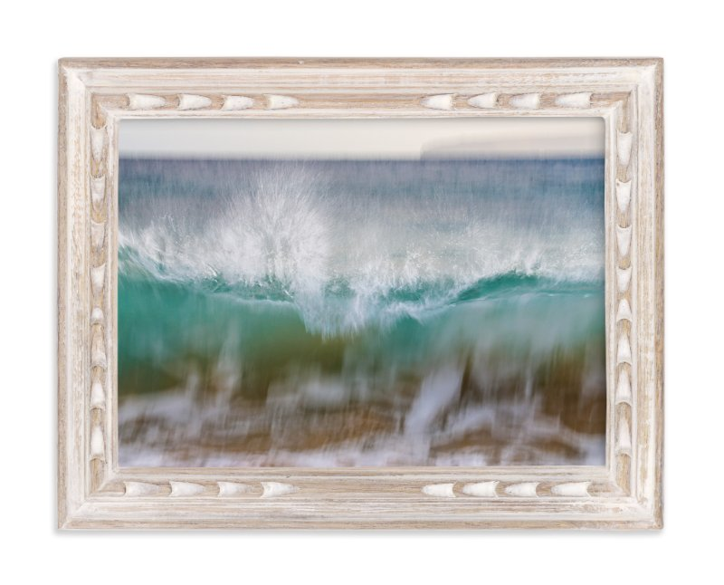 """Hawaii Wave Break"" - Art Print by Mary Ann Glynn-Tusa in beautiful frame options and a variety of sizes."