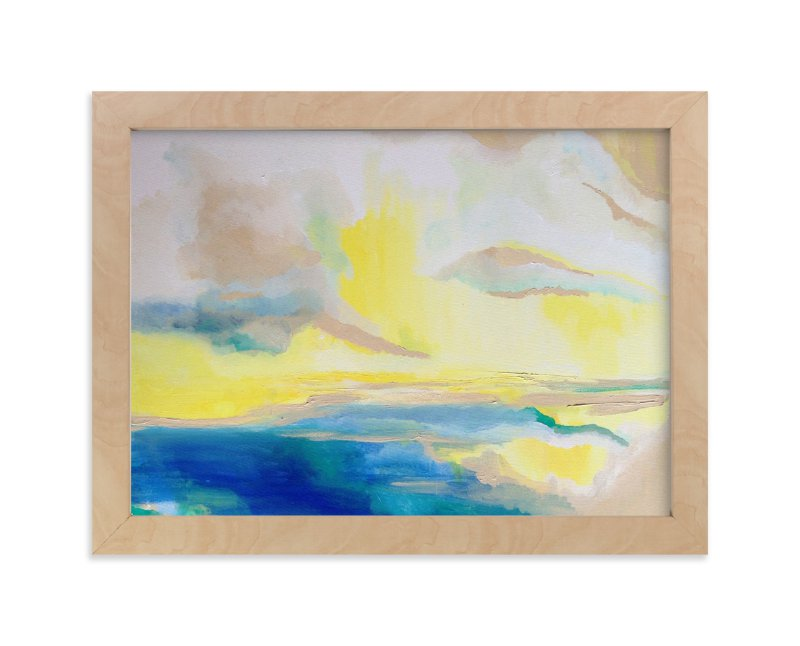 """""""Verano """" - Art Print by Art by Megan in beautiful frame options and a variety of sizes."""