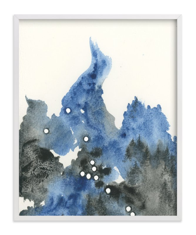"""""""Taurus Constellation"""" - Art Print by Emily Magone in beautiful frame options and a variety of sizes."""