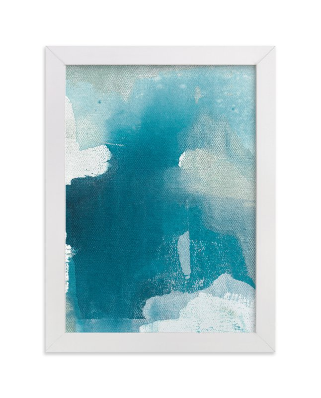 """""""Sea Glass No. 7"""" - Art Print by Julia Contacessi in beautiful frame options and a variety of sizes."""