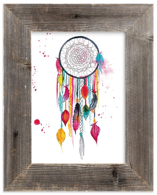 """""""Dream Catcher #3"""" - Art Print by Kelsey McNatt in beautiful frame options and a variety of sizes."""