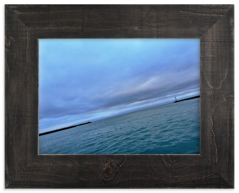 """""""Out into the Sea"""" - Art Print by Brittany Bay in beautiful frame options and a variety of sizes."""