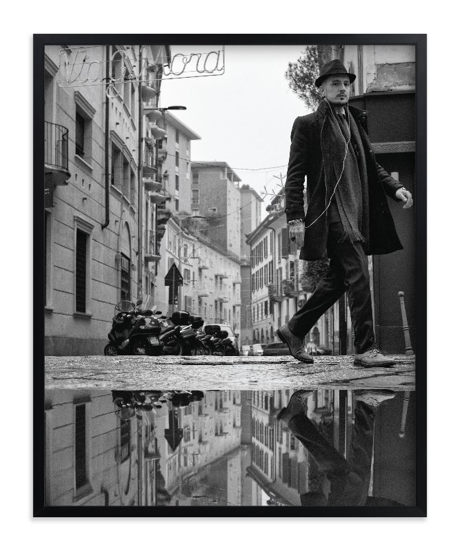 """""""Milan Reflections"""" - Art Print by Mark Kirby in beautiful frame options and a variety of sizes."""