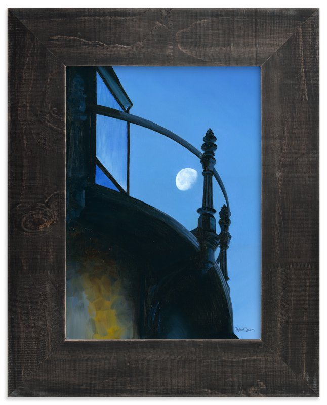 """Quarters"" - Art Print by Robert Deem in beautiful frame options and a variety of sizes."