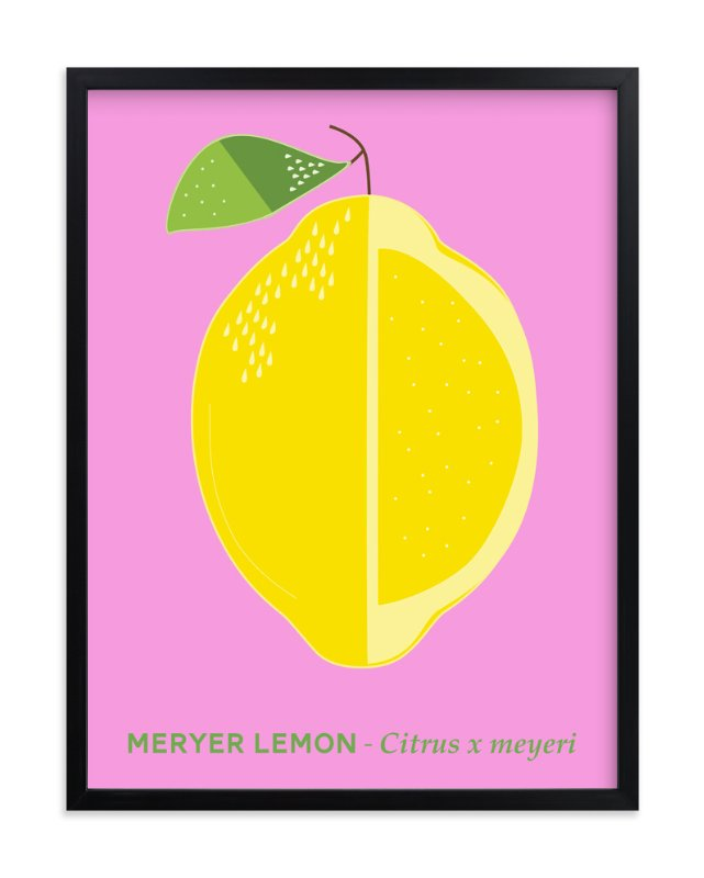 Bold Lemon Print Wall Art Prints by Gaucho Works | Minted