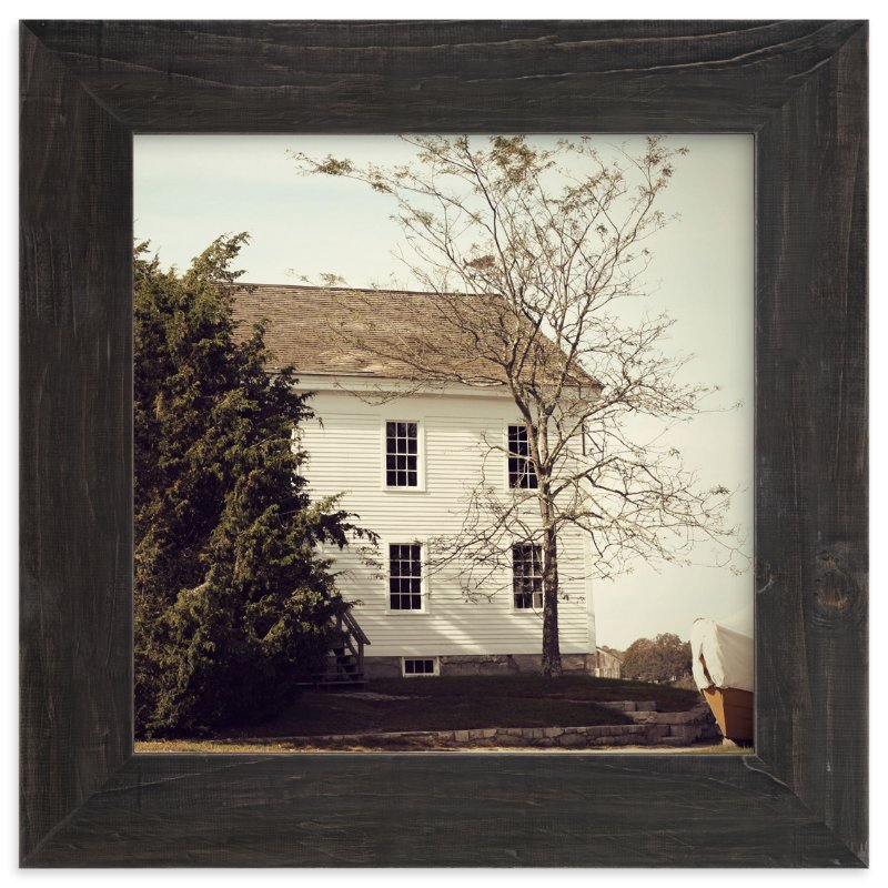 """""""House by the Water"""" - Art Print by Gray Star Design in beautiful frame options and a variety of sizes."""