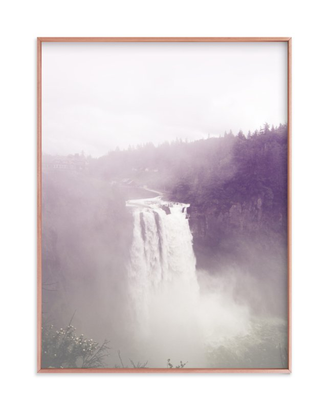 """""""Snoqualmie Falls"""" - Art Print by Owl and Toad in beautiful frame options and a variety of sizes."""