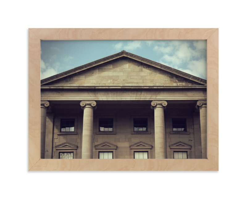"""""""Province House"""" - Art Print by Gray Star Design in beautiful frame options and a variety of sizes."""