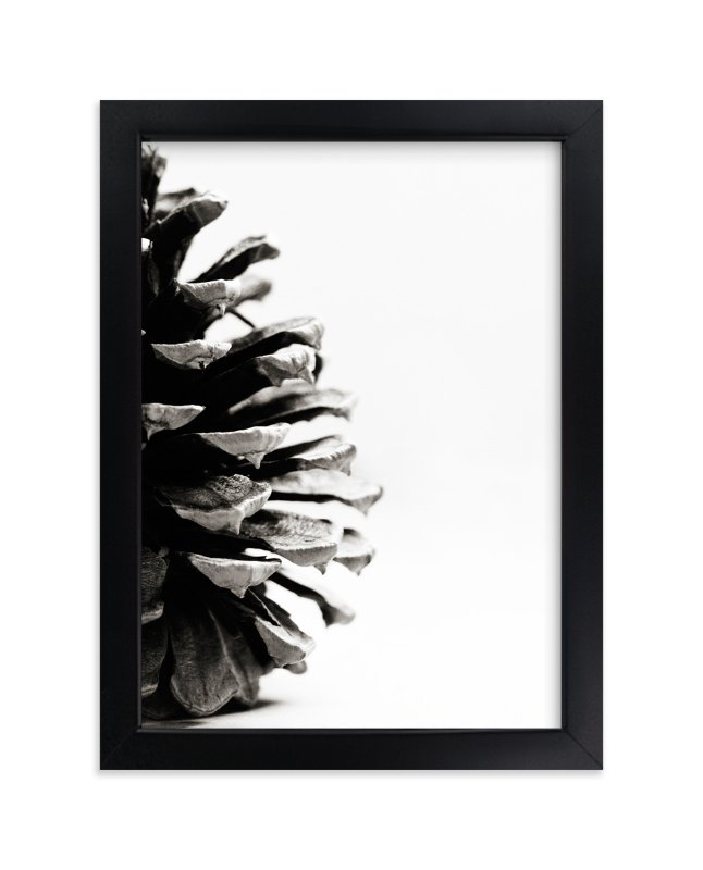 """""""Pine Cone - Part 2"""" - Art Print by Alexis Arnold in beautiful frame options and a variety of sizes."""