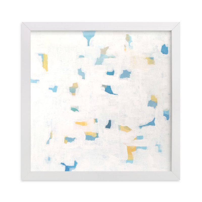 """""""sunlit blues"""" - Art Print by tina johnson in beautiful frame options and a variety of sizes."""