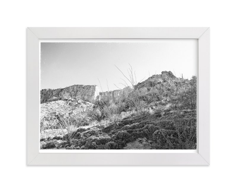"""In The Canyon"" - Art Print by Joseph Weber in beautiful frame options and a variety of sizes."