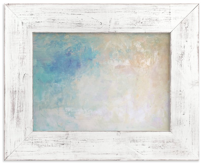 """""""Seashell """" - Art Print by Art by Megan in beautiful frame options and a variety of sizes."""