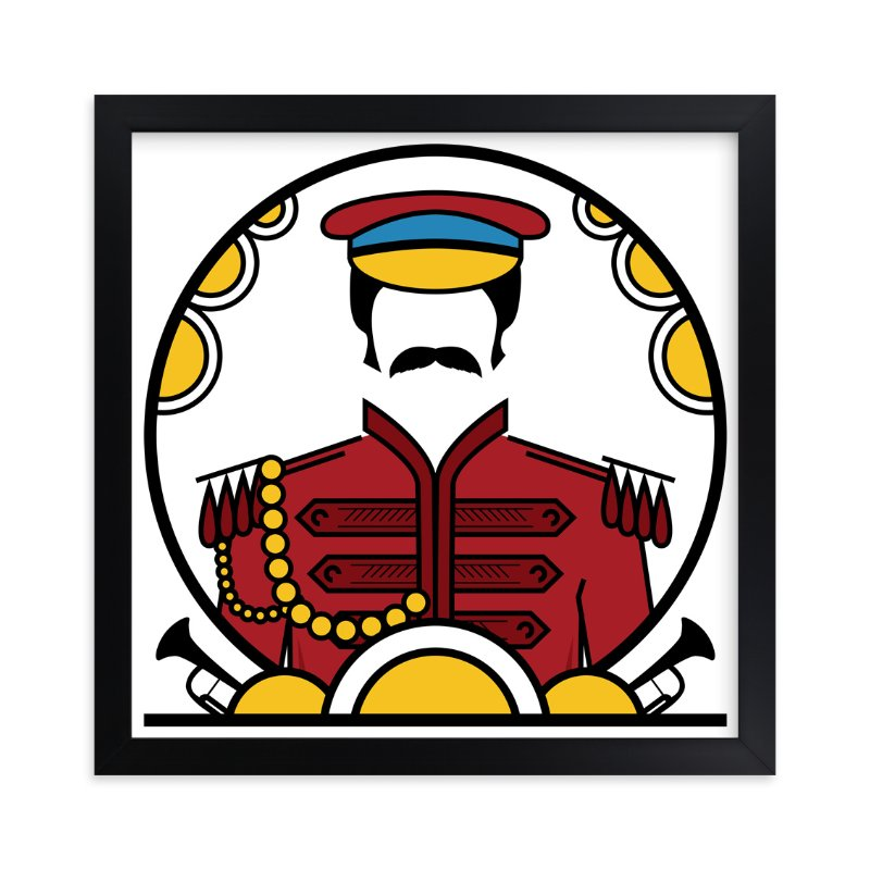 """""""Enjoy the Show"""" - Art Print by King Richard IX in beautiful frame options and a variety of sizes."""