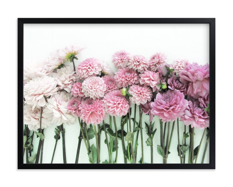 """""""Ombre Blooms"""" - Art Print by Kate Wong in beautiful frame options and a variety of sizes."""