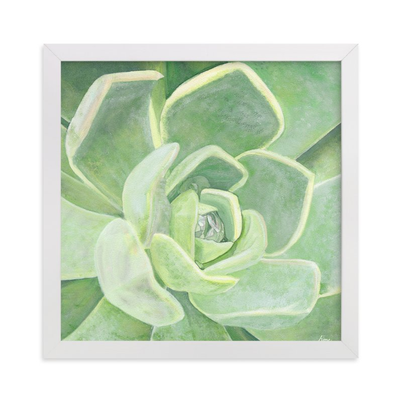 """""""Garden Velvet"""" - Art Print by Heather M. Roberts in beautiful frame options and a variety of sizes."""