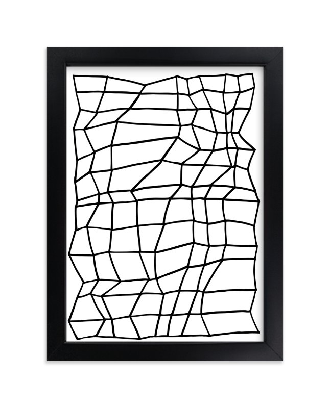 """""""Planar 1"""" - Art Print by Jaime Derringer in beautiful frame options and a variety of sizes."""