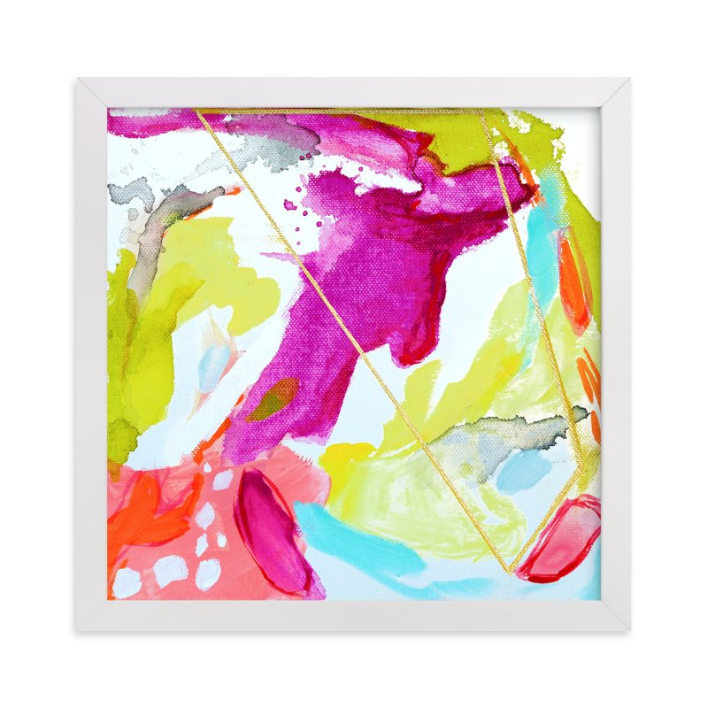 """""""Fresh Squeezed #1"""" - Art Print by Mya Bessette in beautiful frame options and a variety of sizes."""
