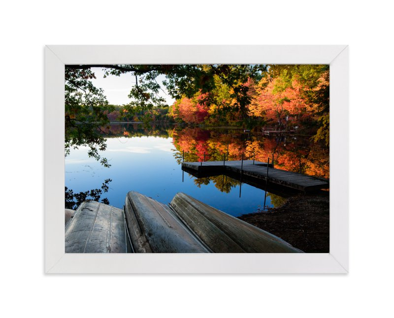 """""""Season's End"""" - Art Print by Mark Kirby in beautiful frame options and a variety of sizes."""