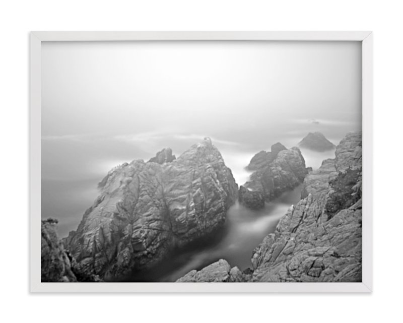 """Foggy Day in Point Lobos-2"" - Art Print by NSMARK in beautiful frame options and a variety of sizes."
