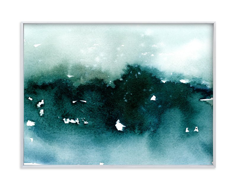 """""""Distant Dusk II"""" - Art Print by Lindsay Megahed in beautiful frame options and a variety of sizes."""