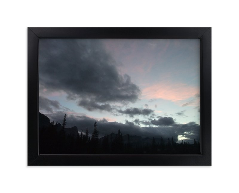 """smoke & mist"" - Art Print by XL in beautiful frame options and a variety of sizes."