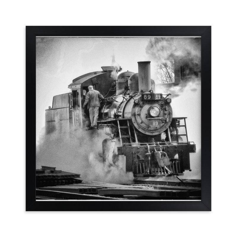 """""""Engine 89"""" - Art Print by Mazing Designs in beautiful frame options and a variety of sizes."""