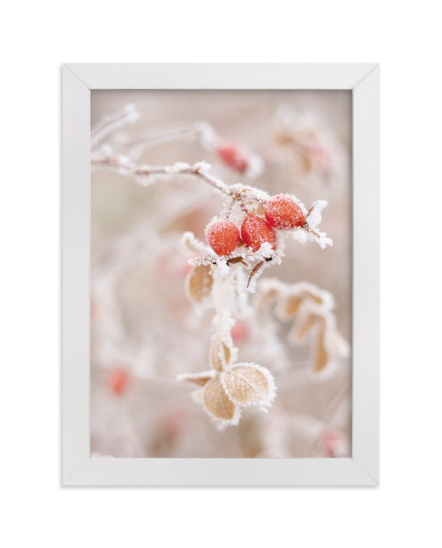 """Frozen Berries"" - Art Print by Sharon Rowan in beautiful frame options and a variety of sizes."