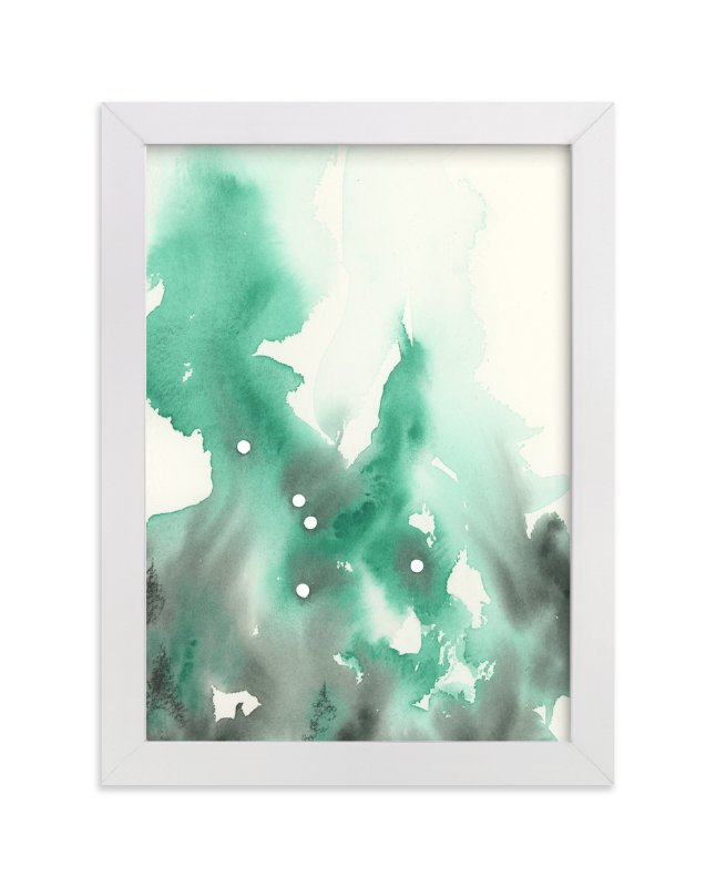 """""""Cancer Constellation"""" - Art Print by Emily Magone in beautiful frame options and a variety of sizes."""