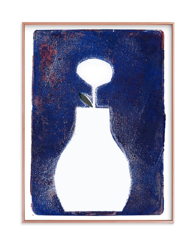 """""""Sometimes it is blue2"""" - Art Print by Bethania Lima in beautiful frame options and a variety of sizes."""