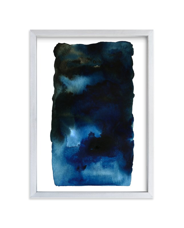 """""""Storm #2"""" - Art Print by Belia Simm in beautiful frame options and a variety of sizes."""