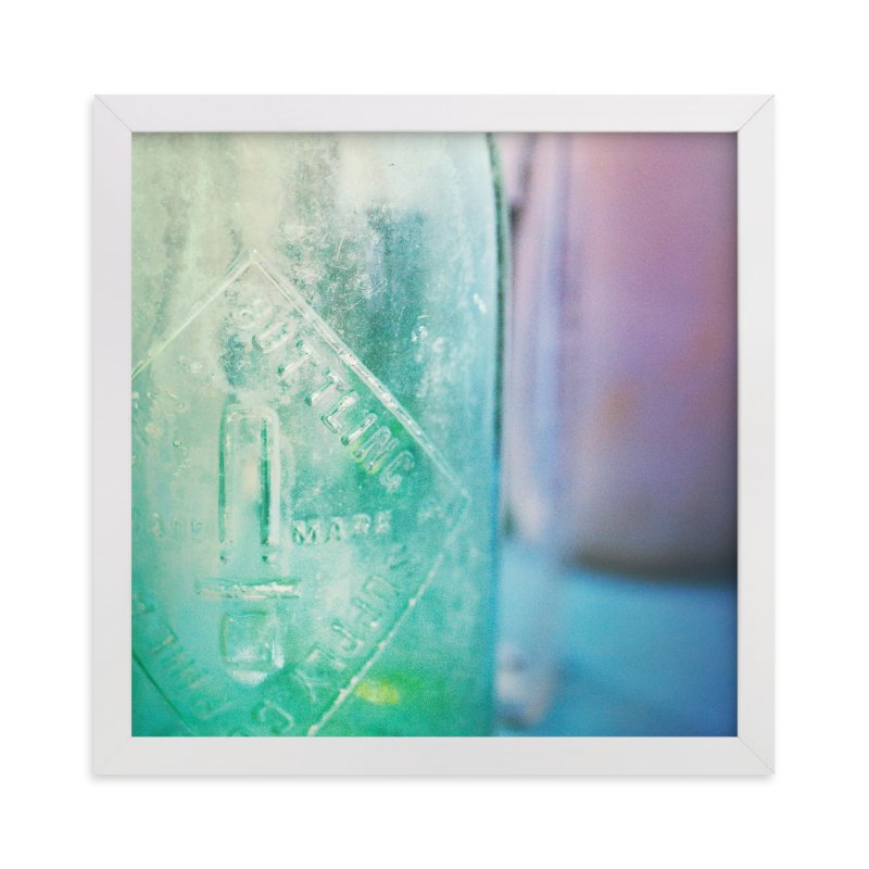 """""""Glass"""" - Art Print by Smile Peace Love in beautiful frame options and a variety of sizes."""