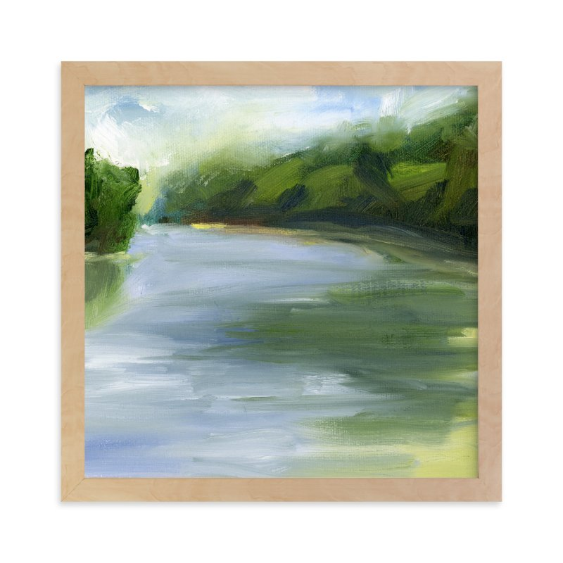 """""""Pond Reflections"""" - Art Print by Lindsay Megahed in beautiful frame options and a variety of sizes."""