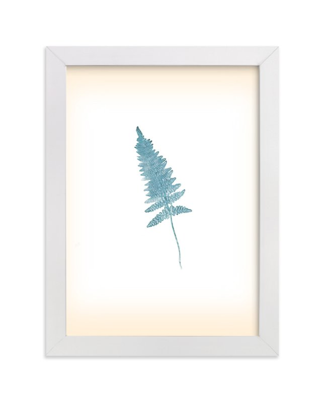 """""""Baby Fern"""" - Art Print by hadley hutton in beautiful frame options and a variety of sizes."""