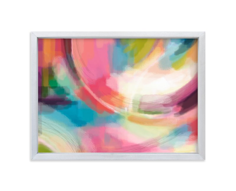 """""""Lovely you"""" - Art Print by Alison Jerry Designs in beautiful frame options and a variety of sizes."""
