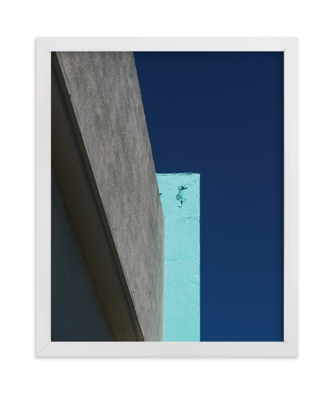 """""""Blocks II"""" - Art Print by Jennifer Little in beautiful frame options and a variety of sizes."""