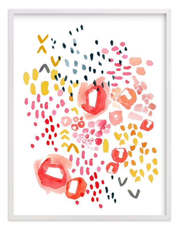 """Gesture"" - Art Print by Kelly Ventura in beautiful frame options and a variety of sizes."