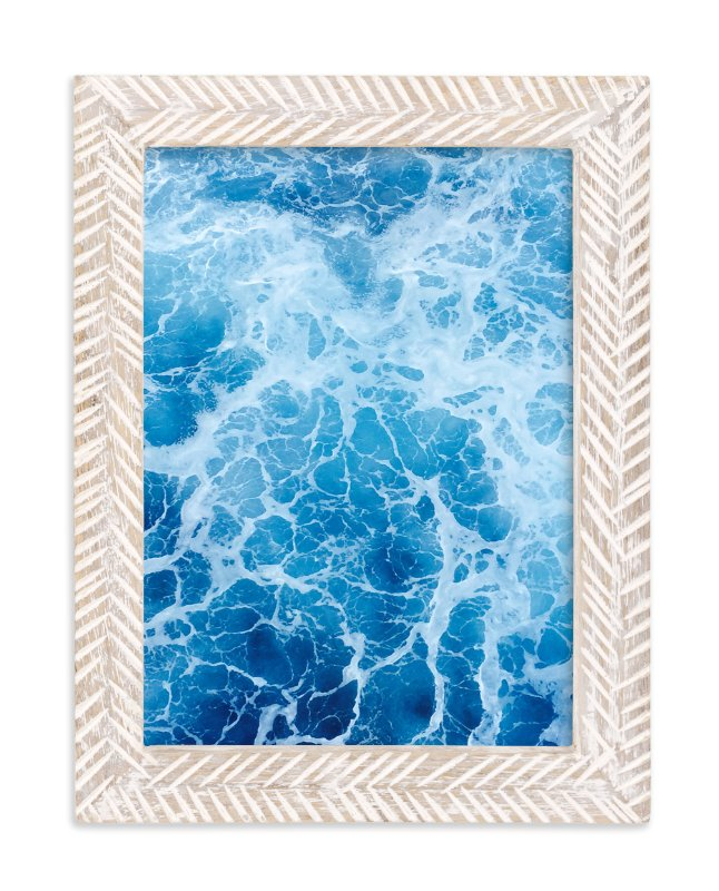 """Moving With Blues"" - Art Print by CaroleeXpressions in beautiful frame options and a variety of sizes."