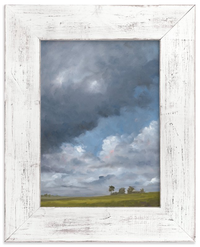 """Topland Storm"" - Art Print by Stephanie Goos Johnson in beautiful frame options and a variety of sizes."