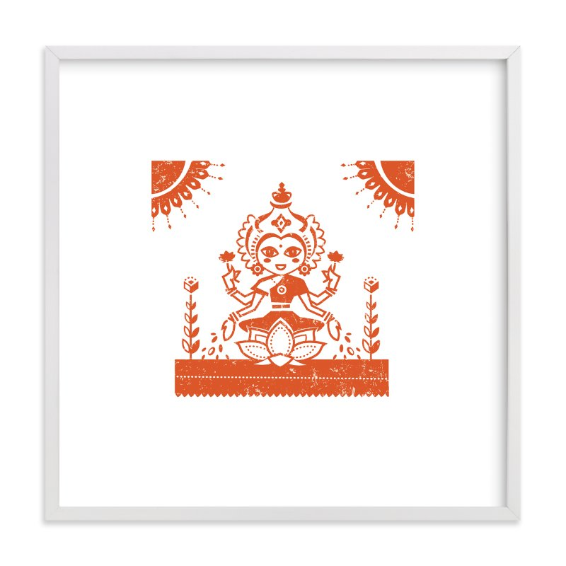 """""""Lakshmi"""" - Art Print by Susie Allen in beautiful frame options and a variety of sizes."""